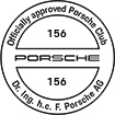 Officially approved Porsche Club 156